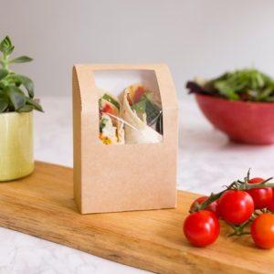 Cajita para wrap/tortilla (9x5x13)cm