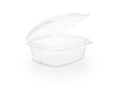 Envase transparente 240 ml con tapa