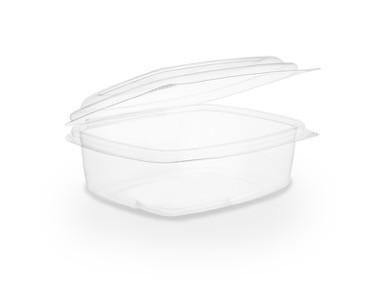 Envase transparente 350ml con tapa