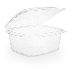 Envase transparente 475ml con tapa
