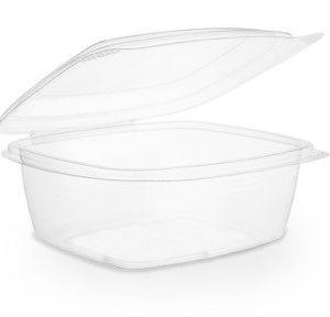 Envase transparente 700ml con tapa