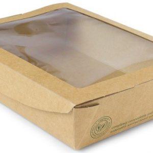Caja para ensalada grande 1100ml (18x13,5x4,5)cm