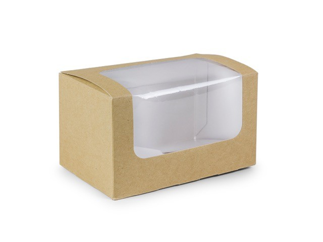 Cajita para sandwiches (12,5x7,5x7,2)cm