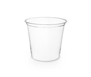 Envase transparente 700ml redondo sin tapa