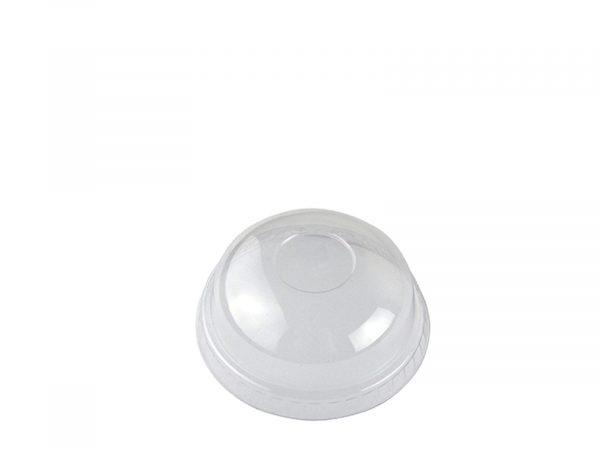 Tapa cúpula con agujero vaso 200ml