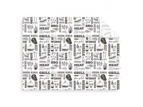 Papel antigrasa grill 30x40cm